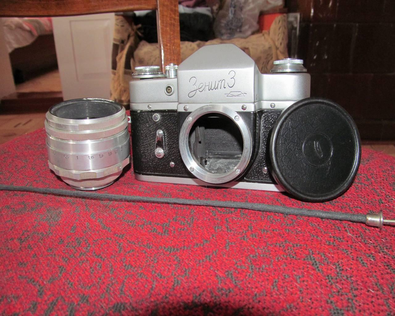 Цифровой фотоаппарат из зенита своими руками