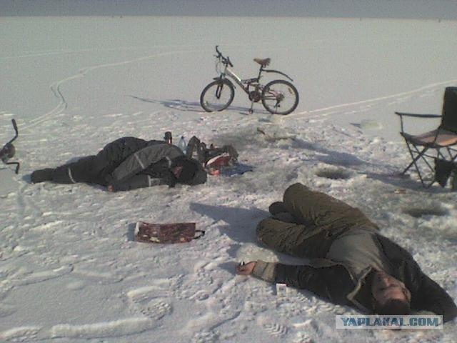 Любители зимней рыбалки провалились под лед на Виннитчине - Цензор.НЕТ 5085
