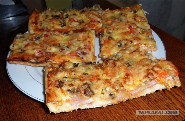 Пицца рецепт приготовления дома