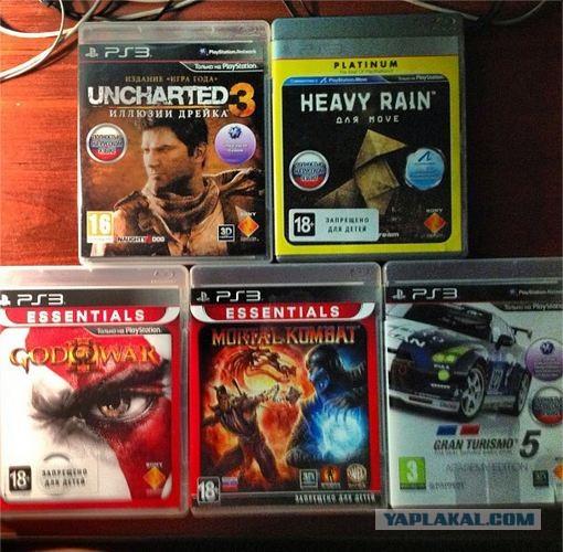 Продам PS 3 500 Gb + игры