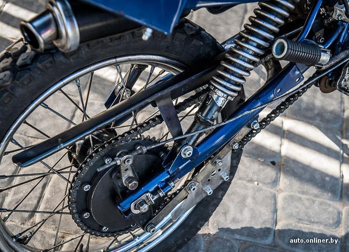 Звездочка на мотоцикл своими руками