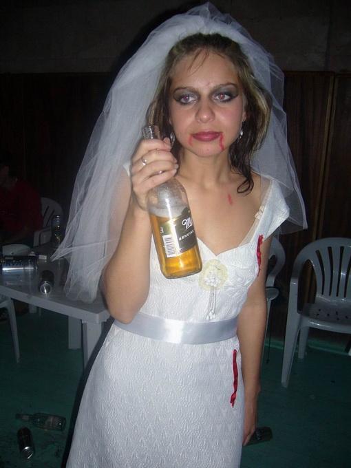 Свадьба деревенских сатанистов
