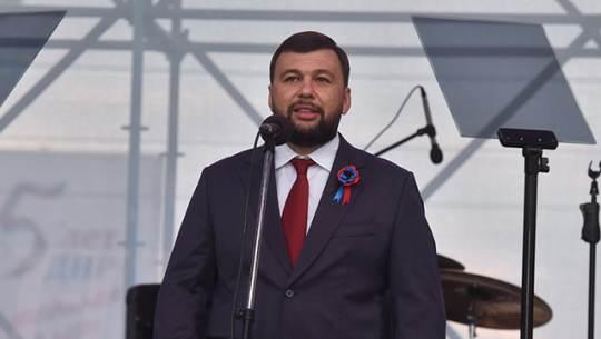 Глава ДНР заявил о цели войти в состав России