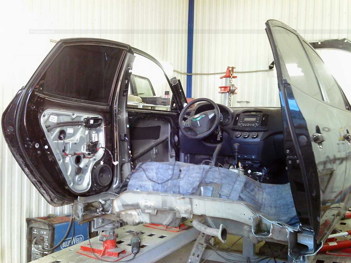 Восстановление автомобиля своими руками фото