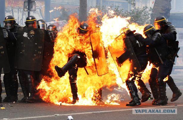 Хаос в Париже