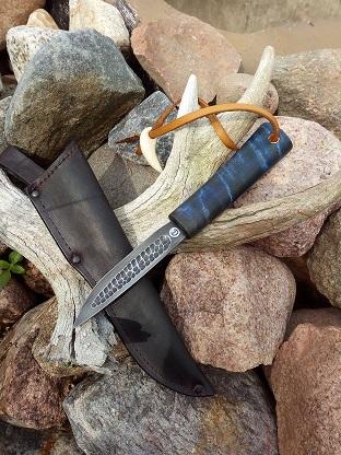 Нож по якутски.