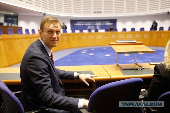 ЕСПЧ присудил Навальному 20 000 евро за домашний арест по делу «Ив Роше»