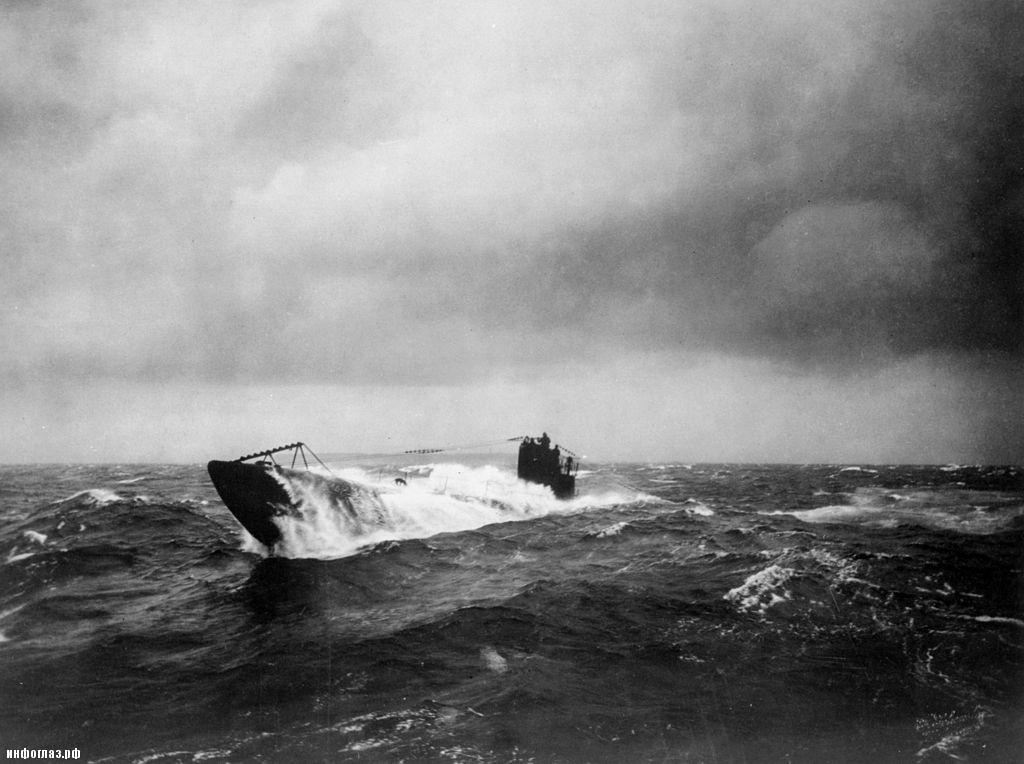подводные лодки германии в годы второй мировой войны