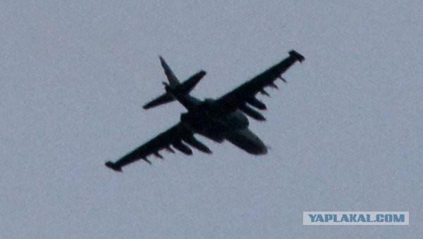 Ополчение впервые атаковало силовиков с воздуха