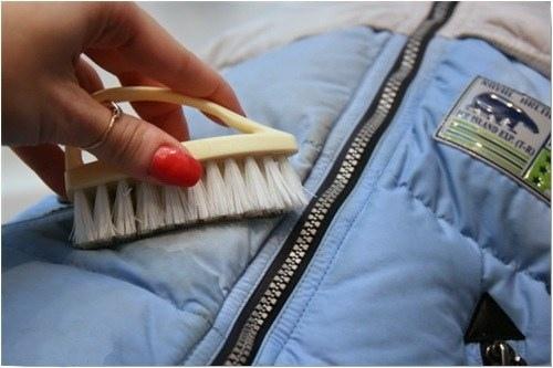 Как отбелить плащевку в домашних условиях
