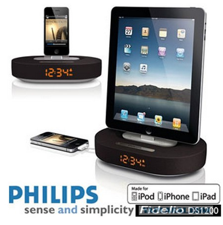 Докстанция для IPod/iPhone Philips DS1200/12