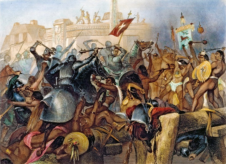 the history of colonization of mexico by cortes