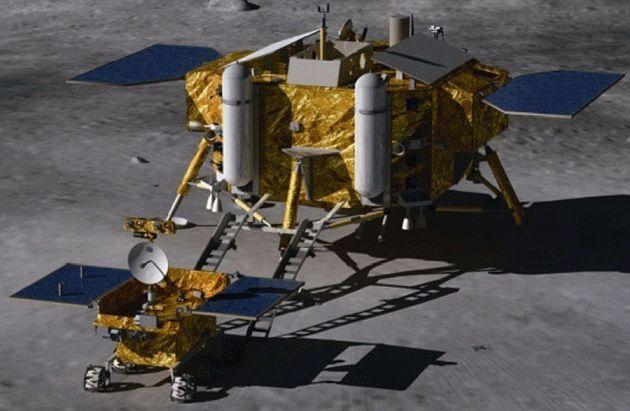 Китай высадился на Луну