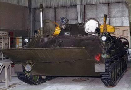 Подводная лодка инженерных войск.