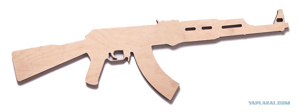 игрушка винтовка из фанеры чертежи