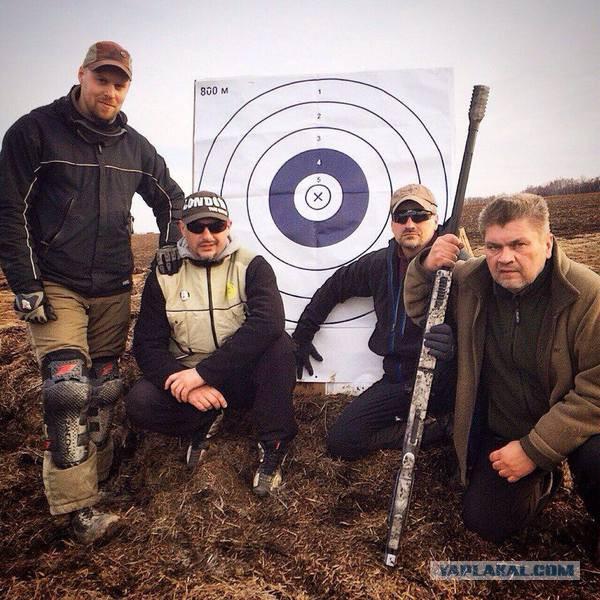 Мировой рекорд российского снайпера