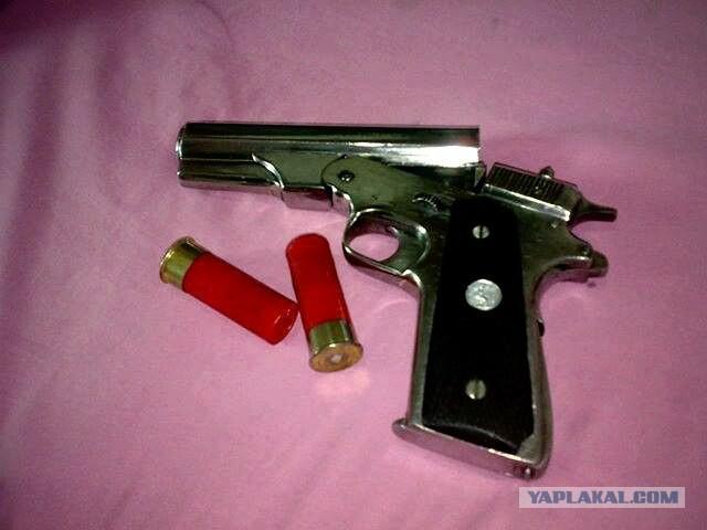 Необычное огнестрельное оружие - ЯПлакалъ