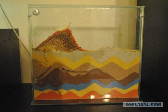 Формикарий из песка