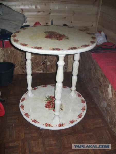 Как сделать стол из балясин