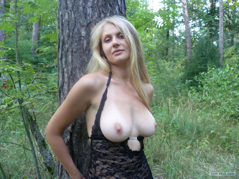 Фото девушки на природе любительские разделись 6 фотография