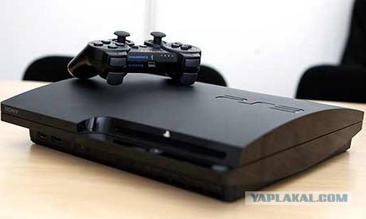 PS3 slim 320 gb прошита