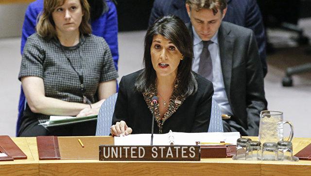 Хейли: новая резолюция США не даст РФ и Сирии наносить удары по террористам