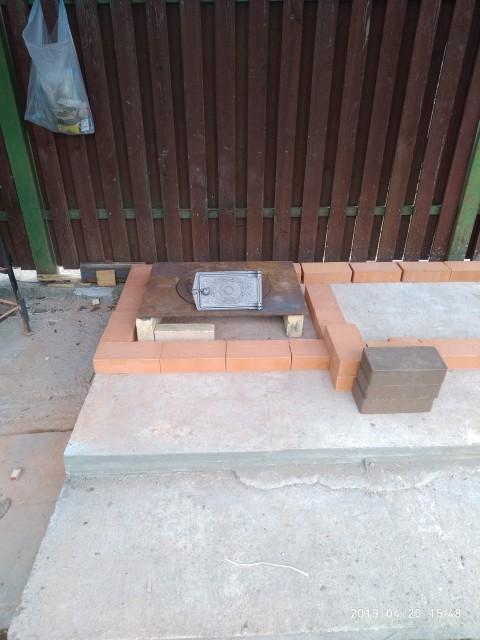 Уличный камин, мангал, печь, тандыр своими руками
