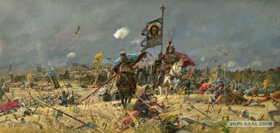 куликовская битва икона: