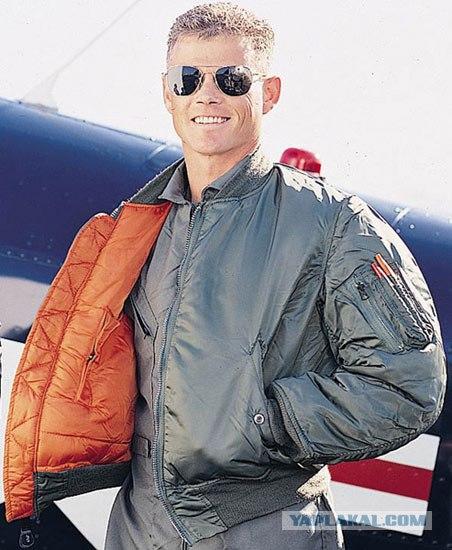 куртка пилот.