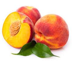 Персики. Спелые.