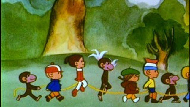 Песня из мультика осторожно обезьянки скачать