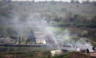 Завязался бой близ села Карловка