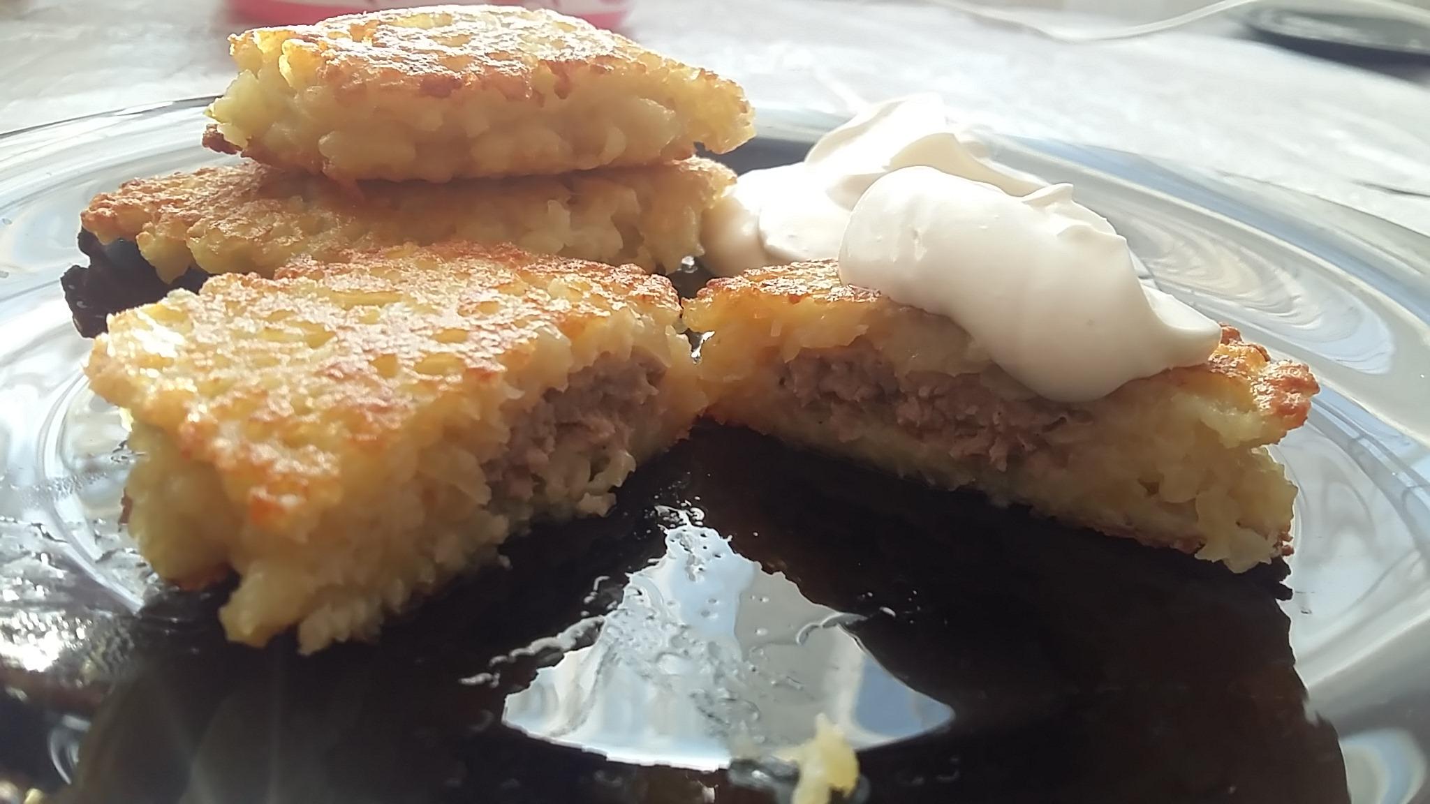 Драники с куриным фаршем рецепт пошагово