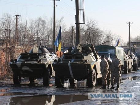 Украинская армия разгромила собственную бригаду