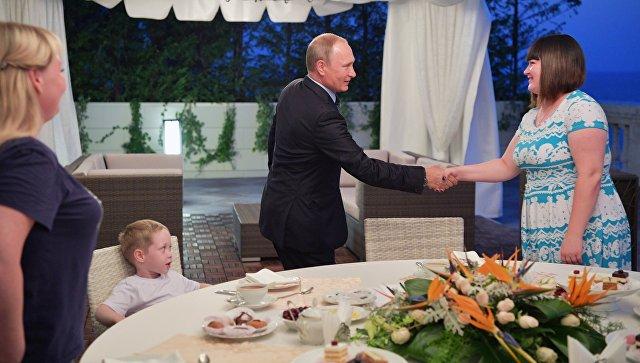 Названа стоимость путевки в Сочи, подаренной Путиным жительнице Ижевска