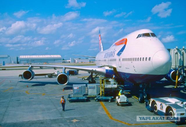 Самолёт вернулся в аэропорт