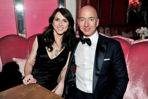 Джефф Безос, генеральный директор Amazon, разводится