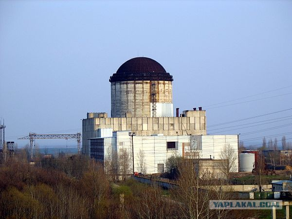 Призраки атомной энергетики: недостроенные АЭС России