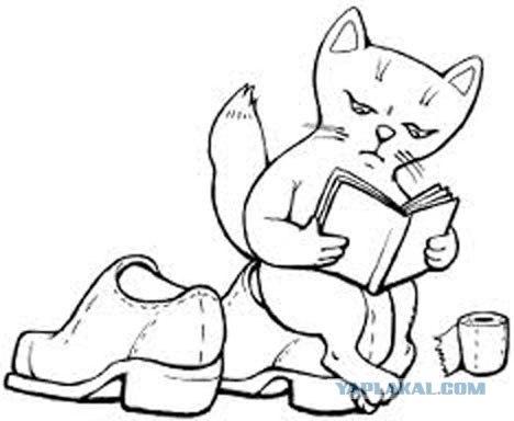 Кот не гадит. Кот окропляет Божественной Росой Избранные участки.