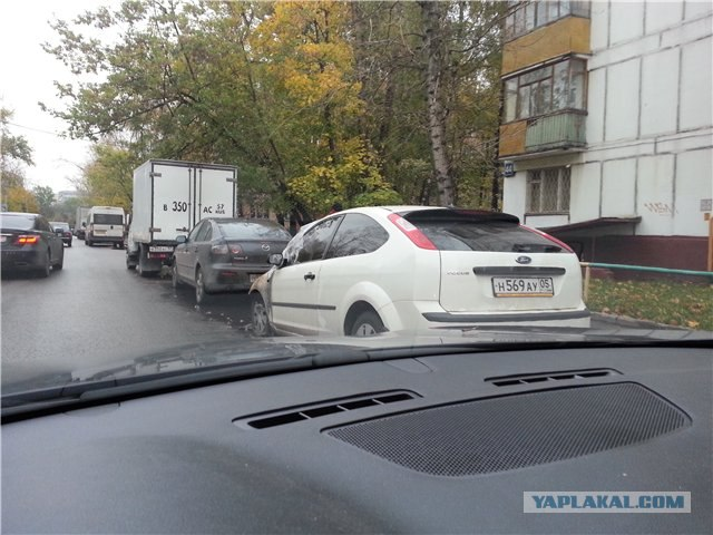 В Москве сжигают машины с кавказскими номерами