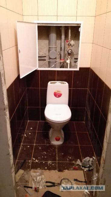 Ремонт туалета в новостройке