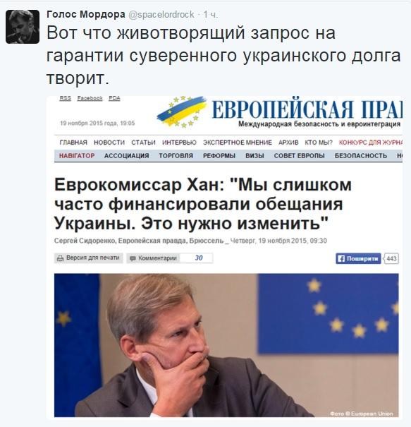 МВФ отказался решать украинский долговой кризис