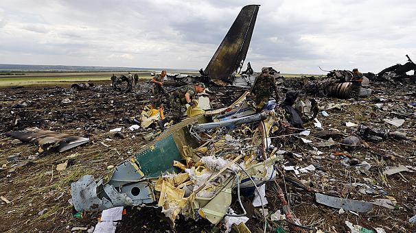 Ил-76 был сбит под Луганском украинскими военными