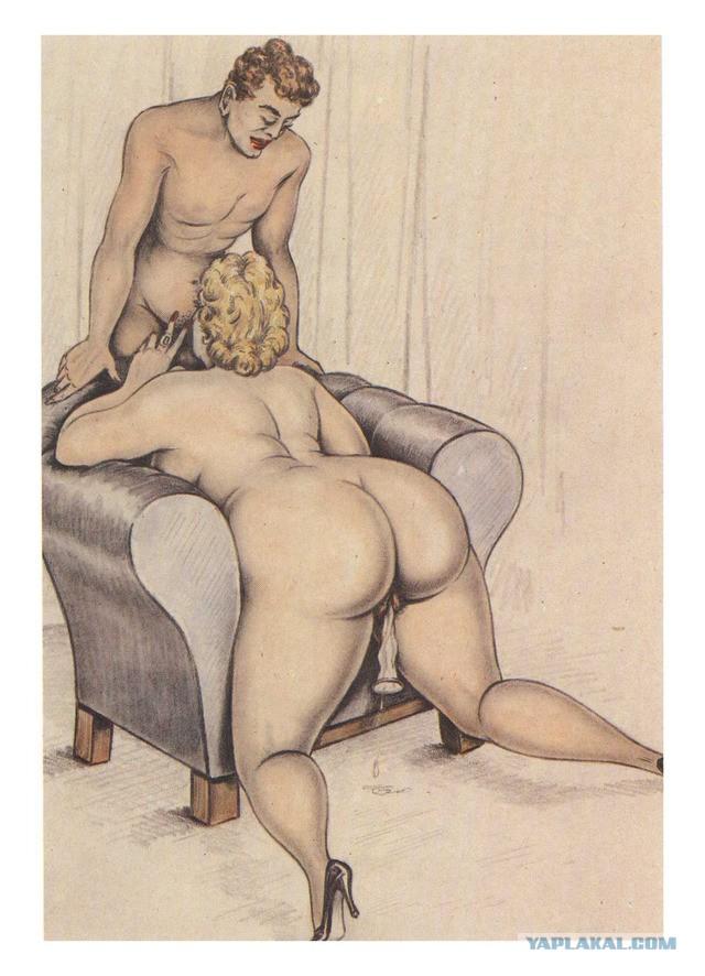 Стариные Рисунки Орального Секса