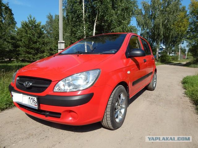 Продаю авто жены, Hyundai Getz 1.4 MT