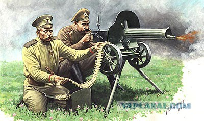 Пулеметы первой мировой войны.