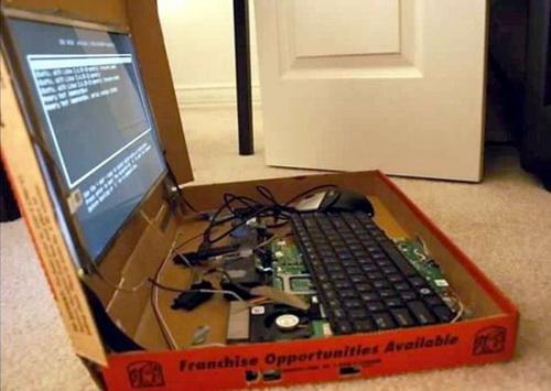 Принесли ноутбук на ремонт