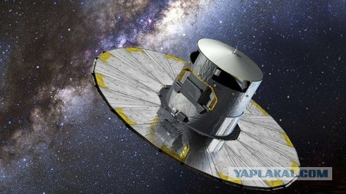 Телескоп Gaia прислал на Землю первый снимок