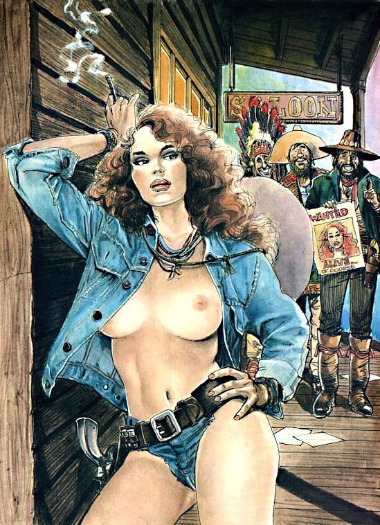Эротические рисунки Horacio Altuna.
