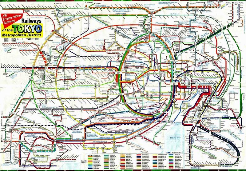 Схема метрополитена